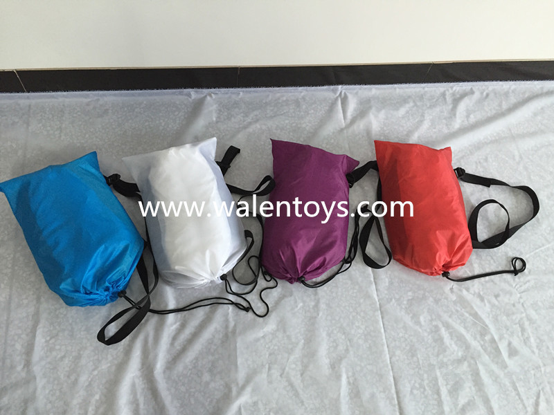 New hangout sleeping bag, Fast Inflatable Air Sleeping Bag Camping Bed Beach Hangout Lay bag Sofa