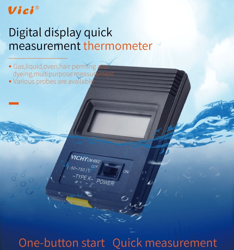 DM6902 thermometer digital thermocouple