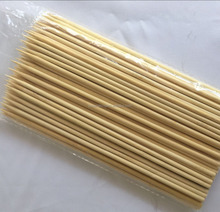 Grade A quality bamboo mateiral shish kebab skewer for food