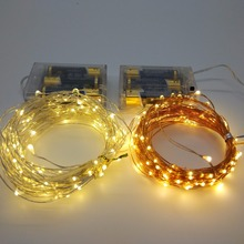 10M 100 Led copper wire string lamp DC5V waterproof IP65 LED rope holiday Christmas static fairy stary twinkle string lights