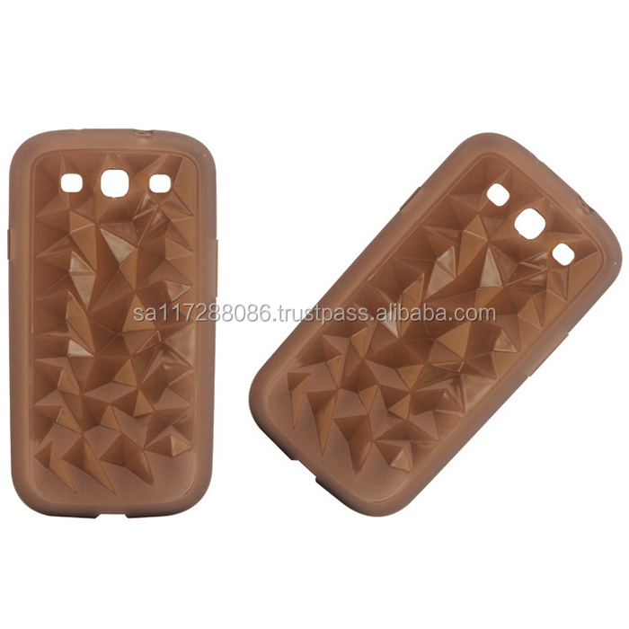 TPU Protective mobile phone cover with 3D pattern