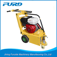 FURD 13HP hand operation concrete scarifying machine for concrete road construction