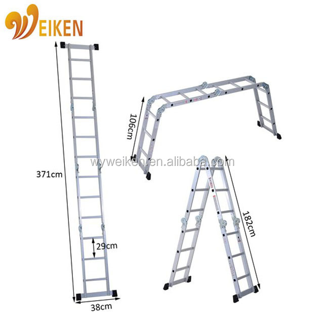 metal ladder, multi-purpose aluminium work bench