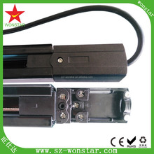 High quality thick aluminum housing copper core 2 wire 3 wire 4wire track light rail