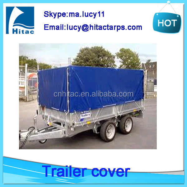 Waterproof pvc vinyl cargo utility trailer covers
