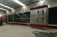 Glass washing machine assembly line