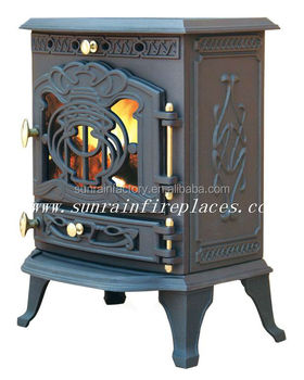 Ture fire free standing cast iron stove(JA023)