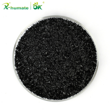 Foliar Fertilizer soil application 100% super potassium humate price fertilizer for sale