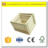 2016 vintage luxury unfinished wood crate