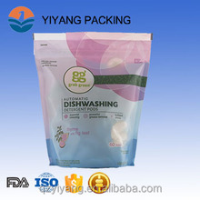 plastic washing powder packaging