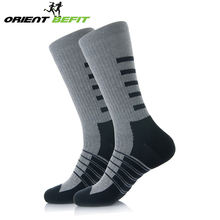 China custom sock manufacturer crew men half cushion seamless sports athletic socks