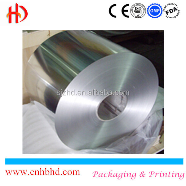 Food wrapping 10 micron jumbo aluminium foil roll for household use