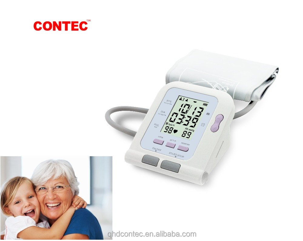 Special in Sep ONLY! CONTEC Electronic bp monitor with SPO2 ,software upload to computer Blood Pressure Monitor