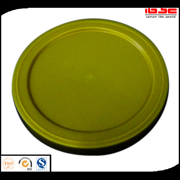Pet food cans plastic cover