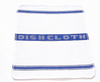 High quality 100% cotton jacquard blue tea towel
