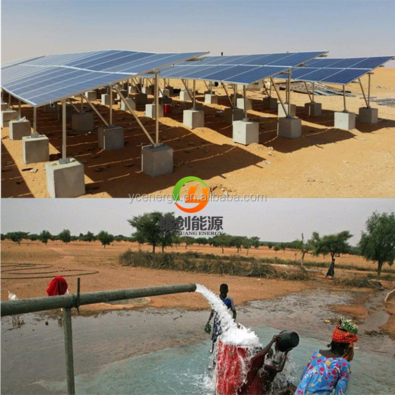 Kenya Agriculture Solar Powered Water Pump System Without Fuel And Electricity Bill