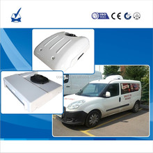 DC12Volt 24V battery powered electric roof mounted cargo van refrigeration for fresh transport cooling