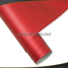 Auto red matte chrome ice film for changing color sticker, bubble free vinyl film for vehicle wrapping 1.52*20m