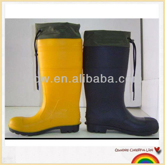 Waterproof adult working PVC boots