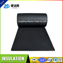 High Density Fire Resistant Insulation Material Sponge Rubber Closed Cell PVC Foam