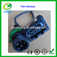 Electric Radiator Cooling Fan Clutch housing pigtail wiring harness 1-967402-1 Chevy GM Ford truck