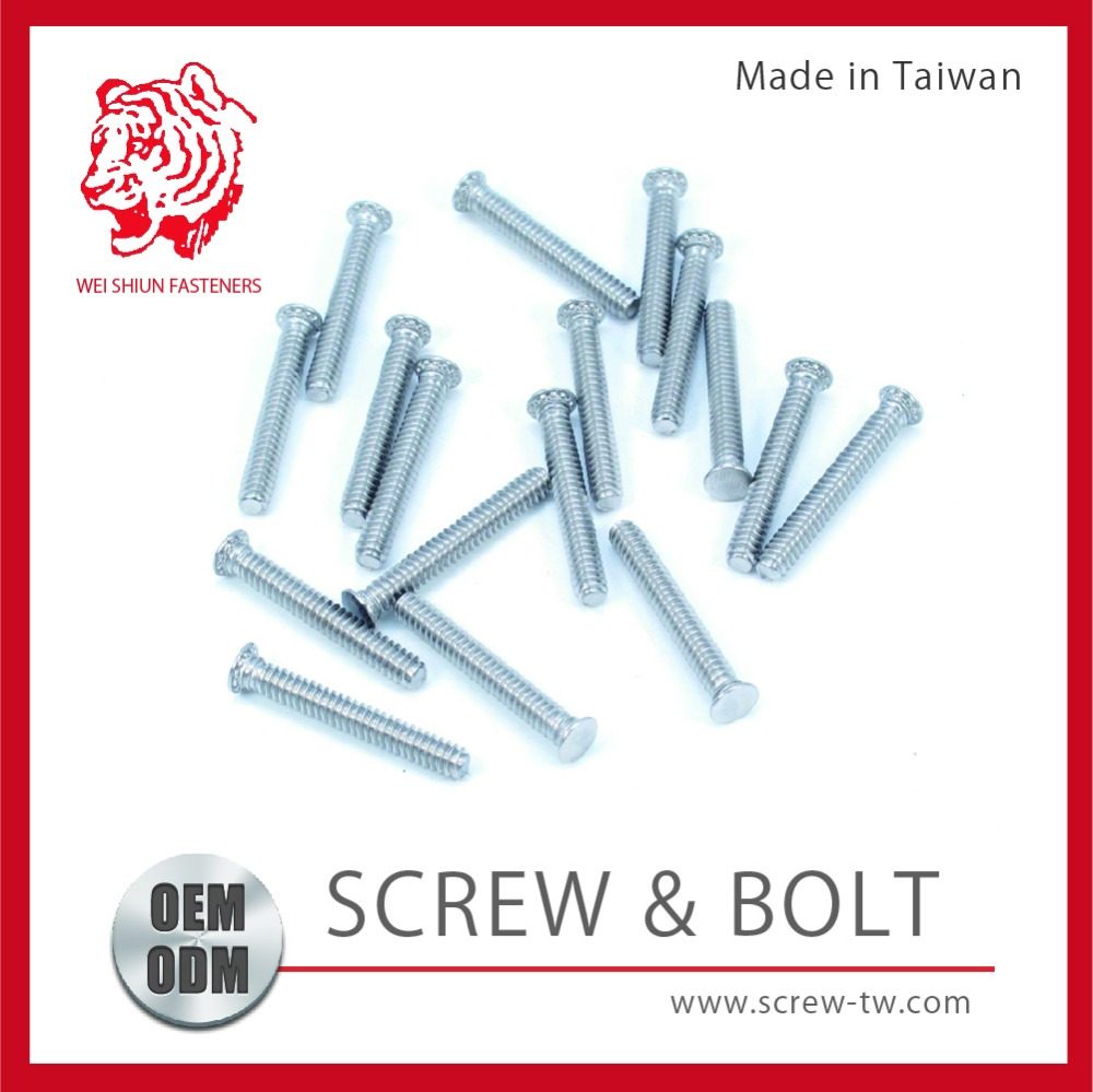 DIN Made in Tawain Excellent Stainless Self Clinching Stud for motorcycle