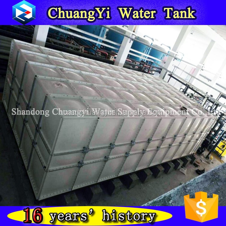 Effect assurance opt fiberglass frp grp water tank for living water made in China