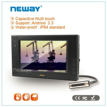 RS232 X 4 USB port 7 inch CAN industrial Touch panel PC