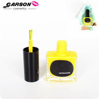 Hot Cake OEM Garson Cosmetics Candy Color Waterbased Peel Off Nail Polish 12ml Gift Packaging Private Label
