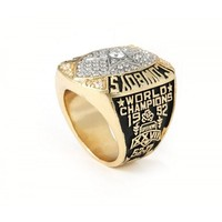 CSR105 NFL 1992 Super Bowl XXVII Dallas Cowboys Championship Replica Ring