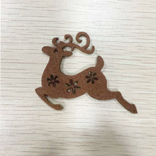Lovely Window Door Decoration Reindeer Christmas Sticker