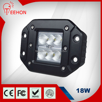 Newest 18 Watt Flush Mount LED Head Light 4X4 and 18W Offroad 12V LED Work Light for 4WD,motorcycle