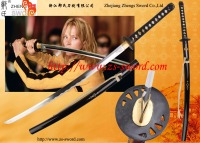 movie kill bill handmade sword steel cosplay samurai katana