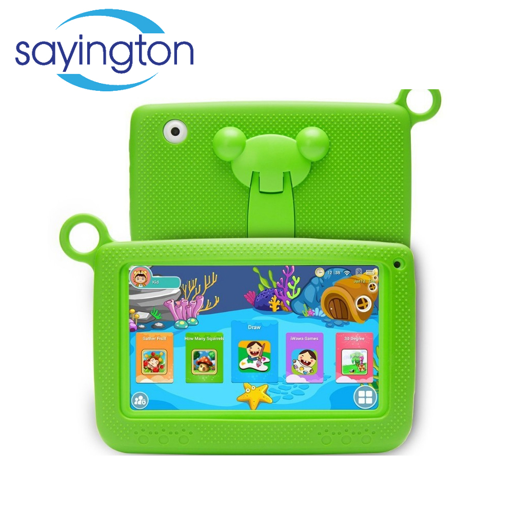 bestselling factory price 10 point touch screen mini 7 inch electronic kids android kids learning tablet