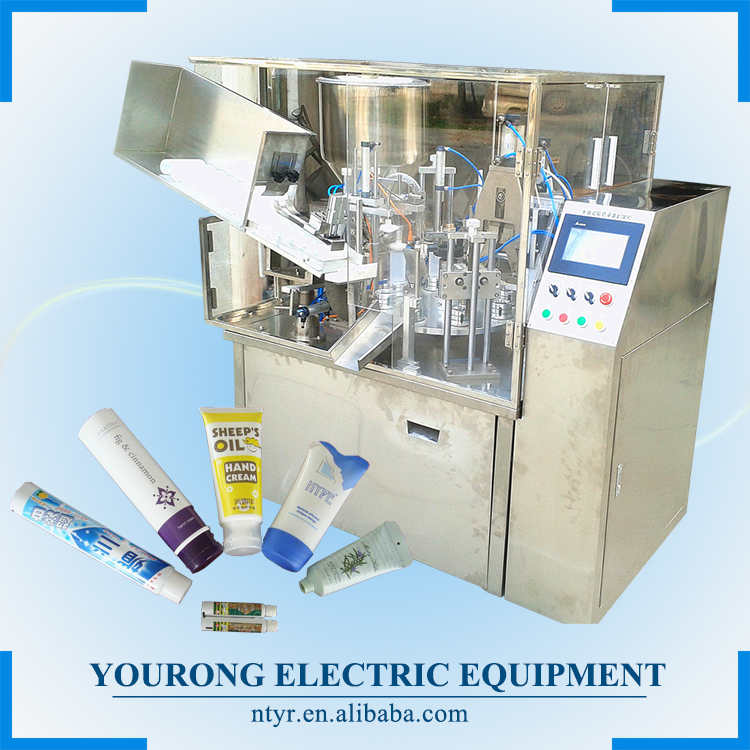 Automatic Plastic Tube Filling Sealing Machine,Toothpaste Tube Filling Machine