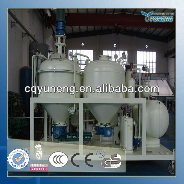 YNZSY Mini Oil/Crude Palm Oil Refinery Plant With CE