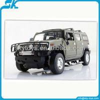 !1:24 Diecast HUMMER remote control model car license car rc drift car toy