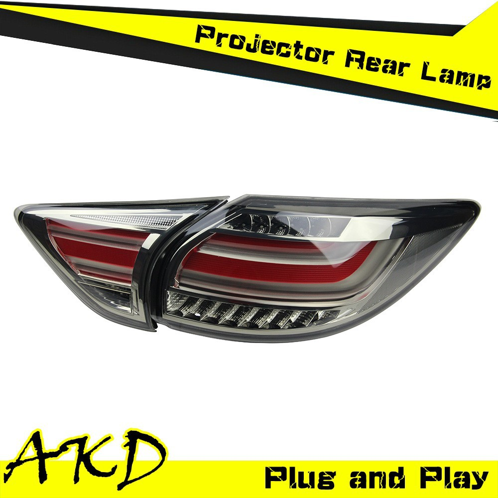 AKD Car Styling MAZDA CX-5 LED Tail Light 2012 CX-5 Tail Lights CX5 led Rear Trunk Lamp DRL+Turn Signal+Reverse+Brake