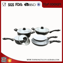 New design ceramic coatedc pans and pots