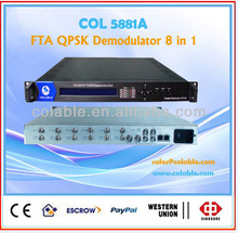 digital tv analog converter,dvb-s2 to CVBS decoder,satellite tv equipment,COL5881A