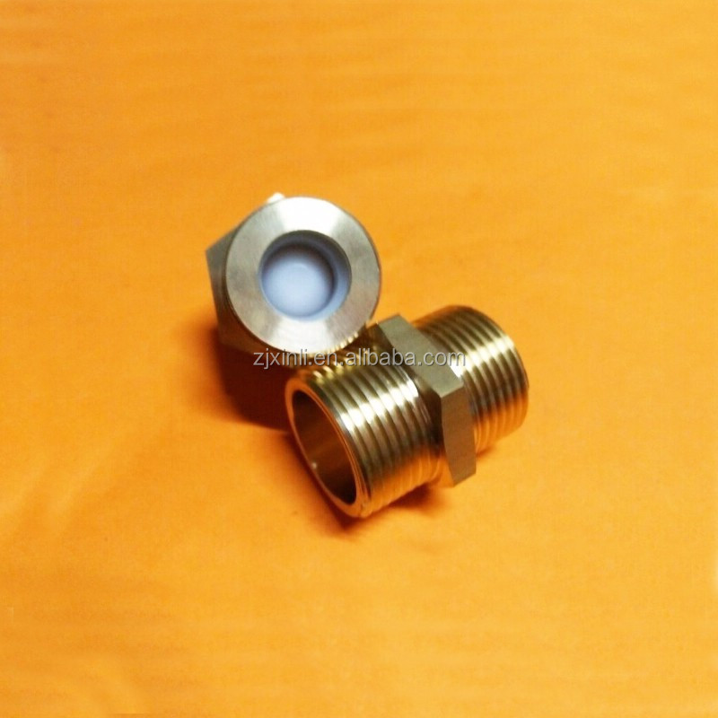1/2, 3/4 and 1 Inch Male Brass Pipe Fitting Adapter with Check Valve X22232