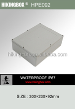 Movable Insulated Water Proof Enclosure/ABS Waterproof Plastic electronic Box HPE092