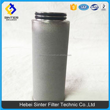 solid liquid separation Sintered powder metal filter for oil mine