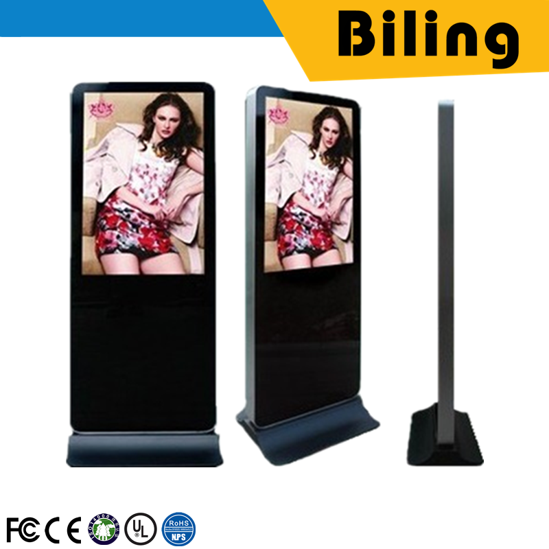 Fast delivery HGM55lA(N)04 AD Player advertising screen outdoor totem lcd display 55 Inch touch Screen tv