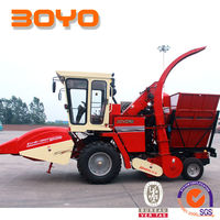 Maize silage harvester