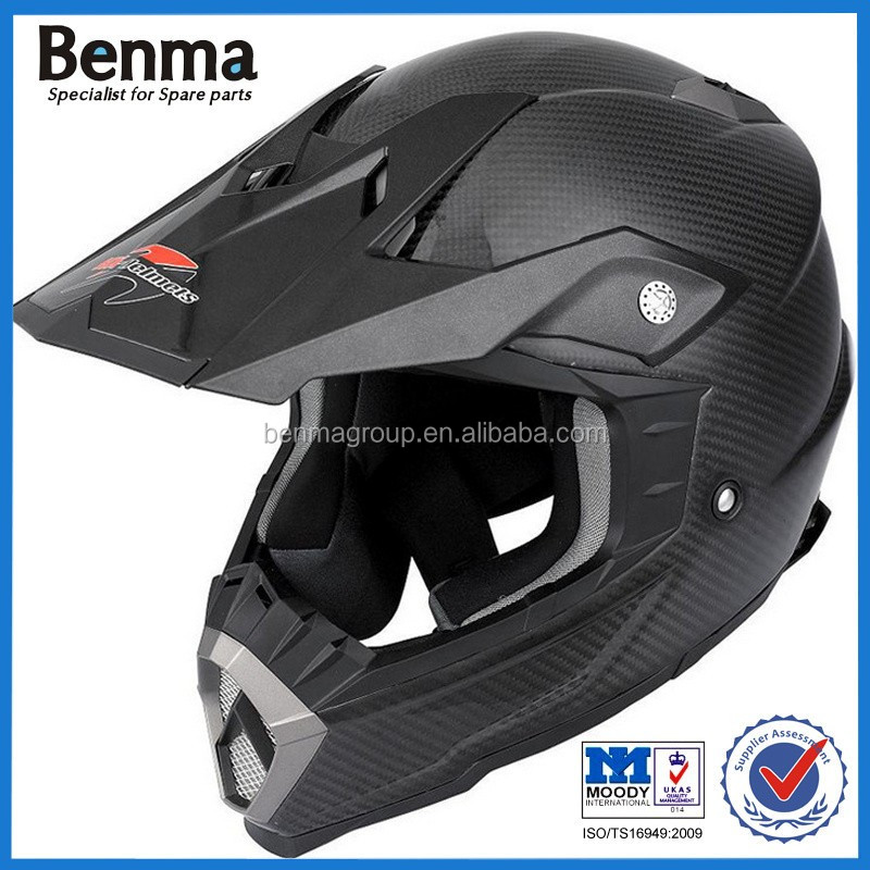 Real carbon fiber racing motorcycle helmet,off road helmet