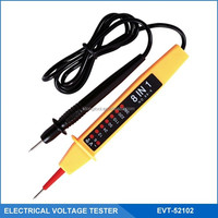 8-in-1 Electrical Voltage Detector,6-400V Two-Pole Voltage Tester, Multi-Function Circuit Tester