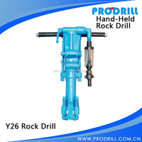 Y6 Y10 Y8 Y20 Y24 Y26 Ty24c Hand-Held Pneumatic Rock Drill Machine for Quarry and Mining