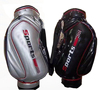 Leather golf bag full length 14 divider golf bag