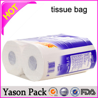 YASON twisted paper rope paper handle bag recycled paper packaging box for led lamp